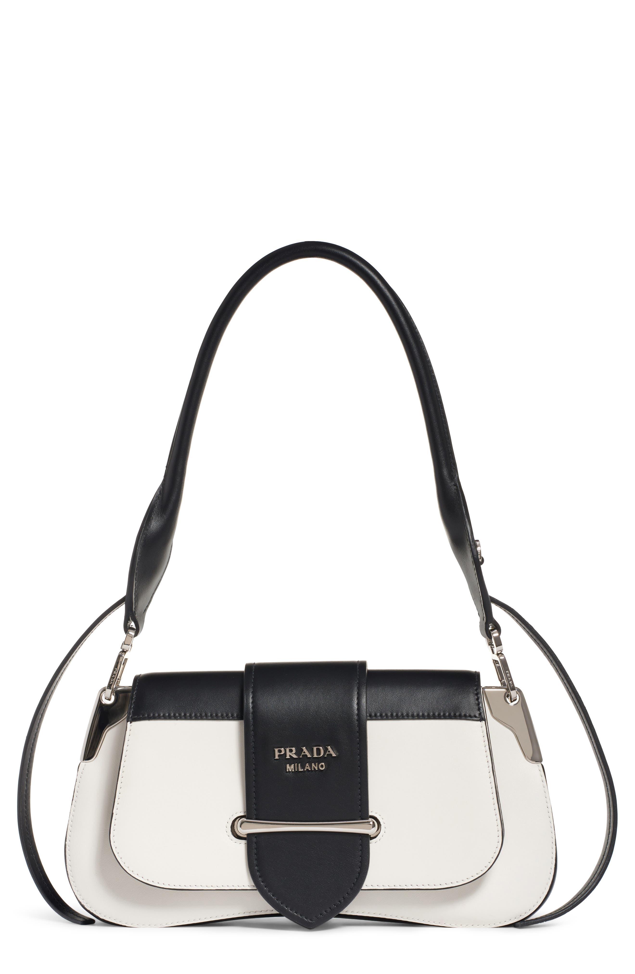 4f14359e9572 discount prada vintage prada chest rig backpack silvergrey size one size  9094b 4e096; new zealand prada sidonie bicolor calfskin leather shoulder bag  00e32 ...