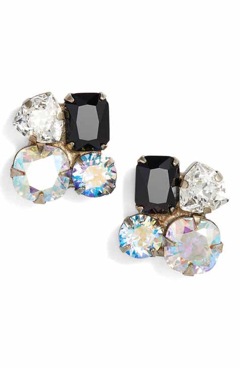 Sorrelli Crystal Cluster Stud Earrings