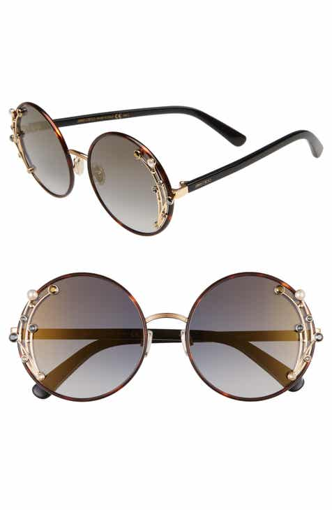 2c598a320a3 Jimmy Choo Gema 59mm Round Sunglasses