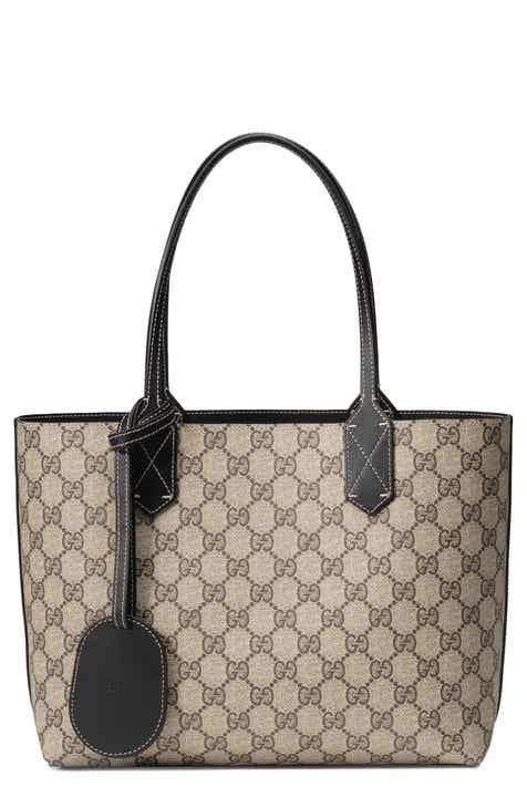 5951e64991c6 Gucci Small Turnaround Reversible Leather Tote