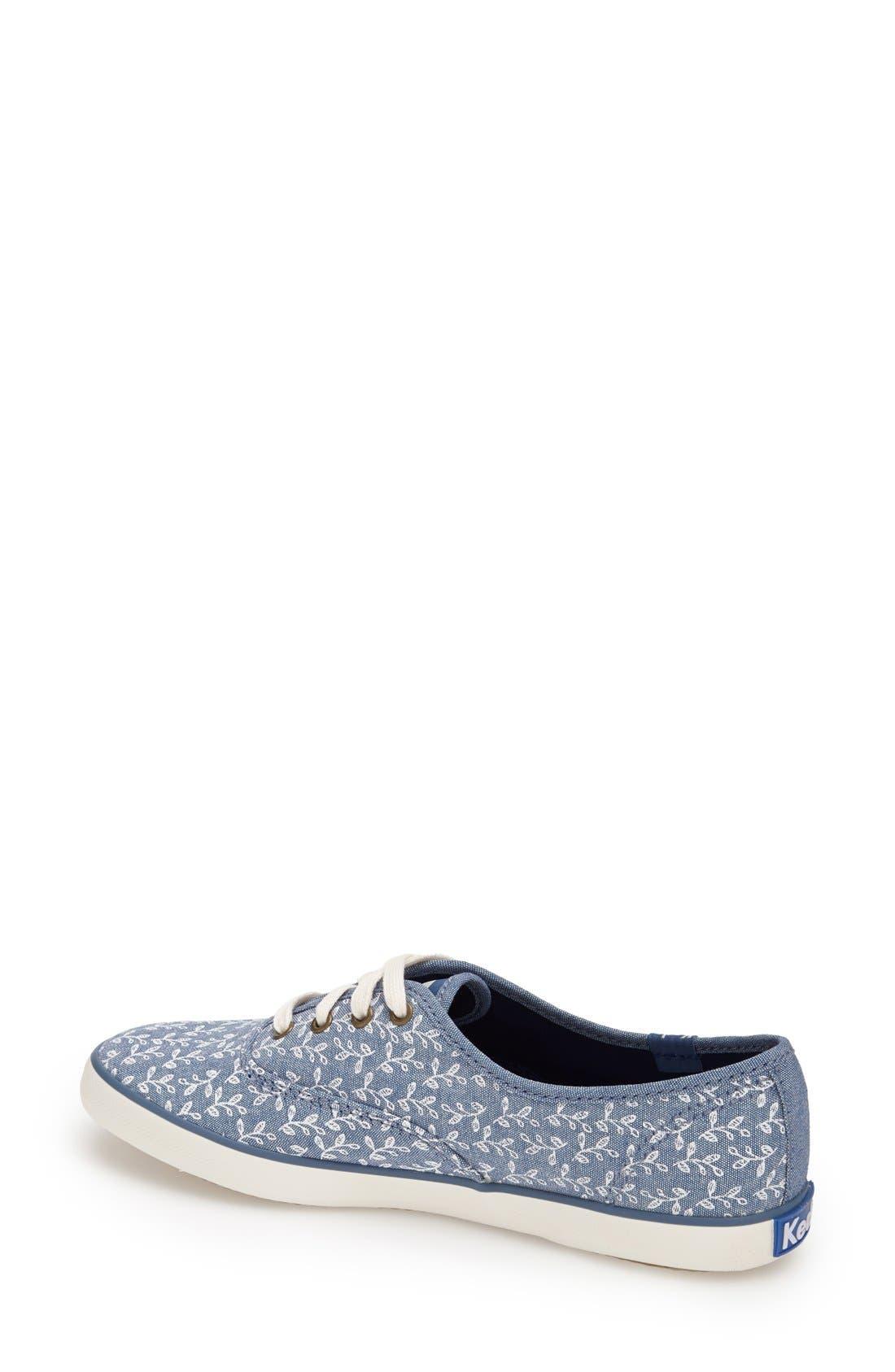 Alternate Image 2  - Keds® 'Champion - Botanical' Sneaker (Women)