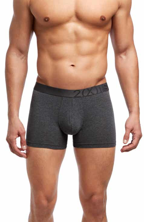 2(x)ist Stretch Pima Cotton Trunks