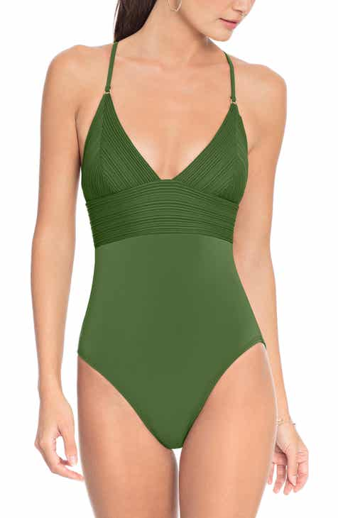 fe28ed2bc43a8 Robin Piccone Lily One-Piece Swimsuit
