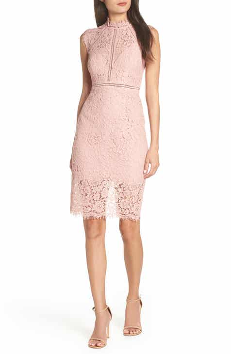 Bardot Lace Sheath Dress by BARDOT