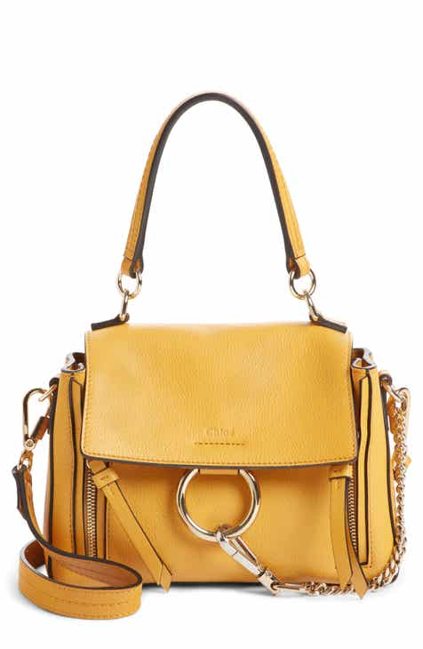 Chloé Mini Faye Day Leather Crossbody Bag