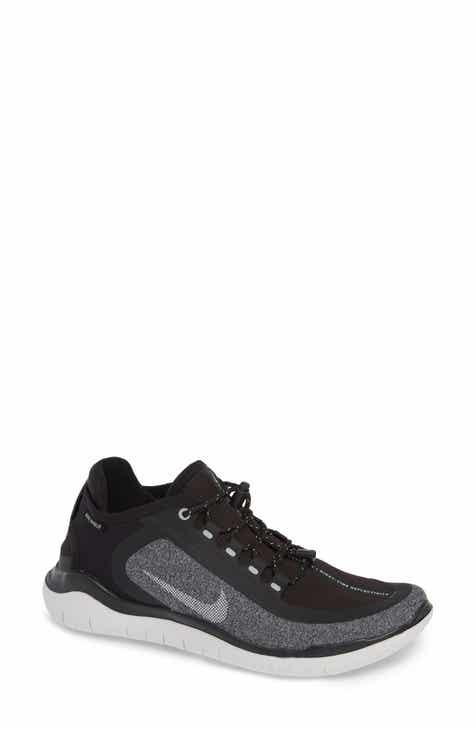acb3eba91cb87 Nike Free RN 2018 Shield Water Repellent Running Shoe (Women ...