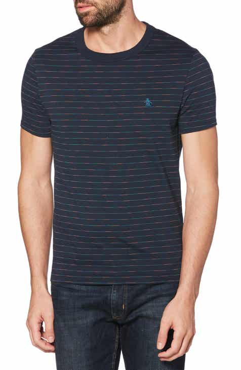 4432596bb0697 Original Penguin Space Dye Stripe T-Shirt