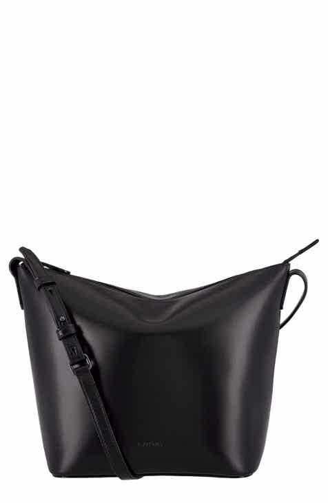 Lodis Los Angeles Camilla Rfid Leather Crossbody Bucket Bag