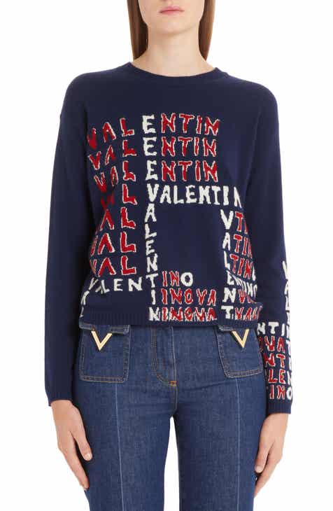 6c8b42adfff9 Valentino Puzzle Wool   Cashmere Sweater