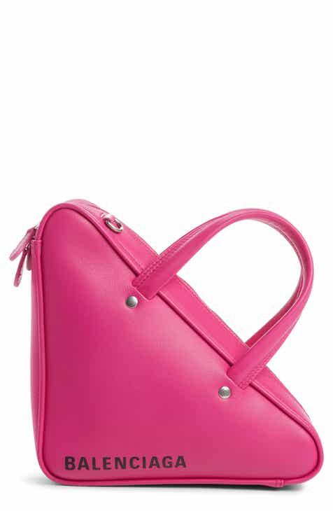 baf377f8deed8 Balenciaga Extra Small Triangle Leather Bag