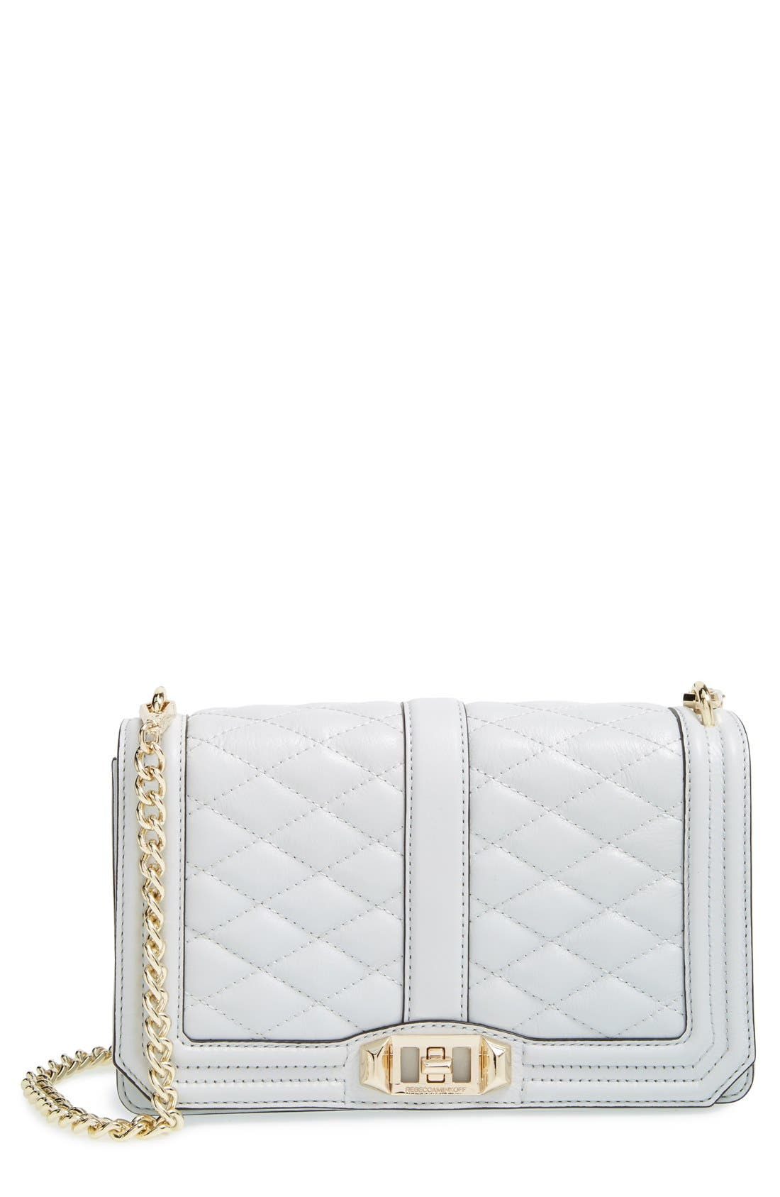 Alternate Image 1 Selected - Rebecca Minkoff Love Leather Crossbody Bag