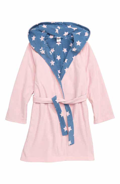 59d63ca683 Tucker + Tate Reversible Fleece Robe (Little Girls   Big Girls)