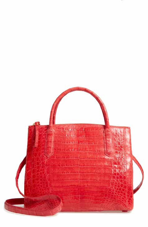 6183fcdd06cb Nancy Gonzalez Medium Double Zip Genuine Crocodile Tote