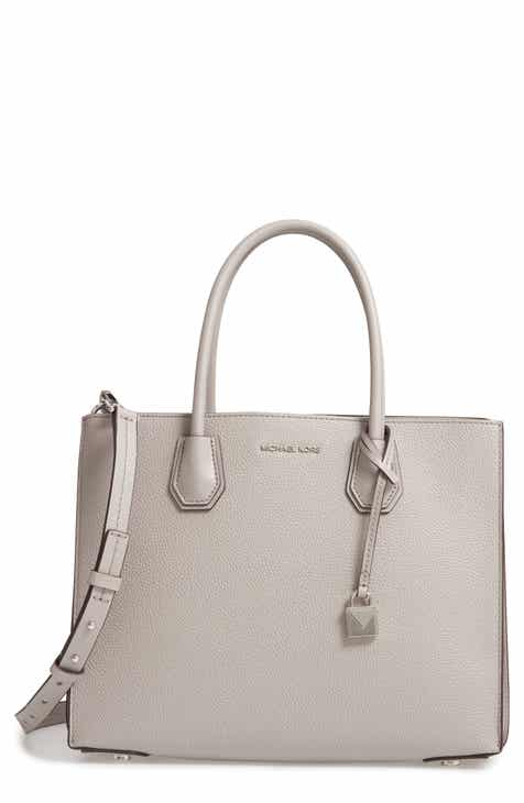 936e9d109cb9 MICHAEL Michael Kors Large Mercer Leather Tote