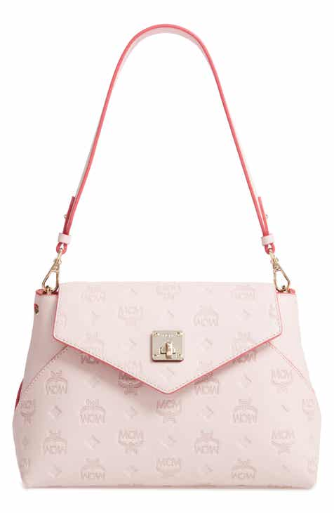 2f02de71f7 MCM Essentials Monogram Leather Small Crossbody Bag