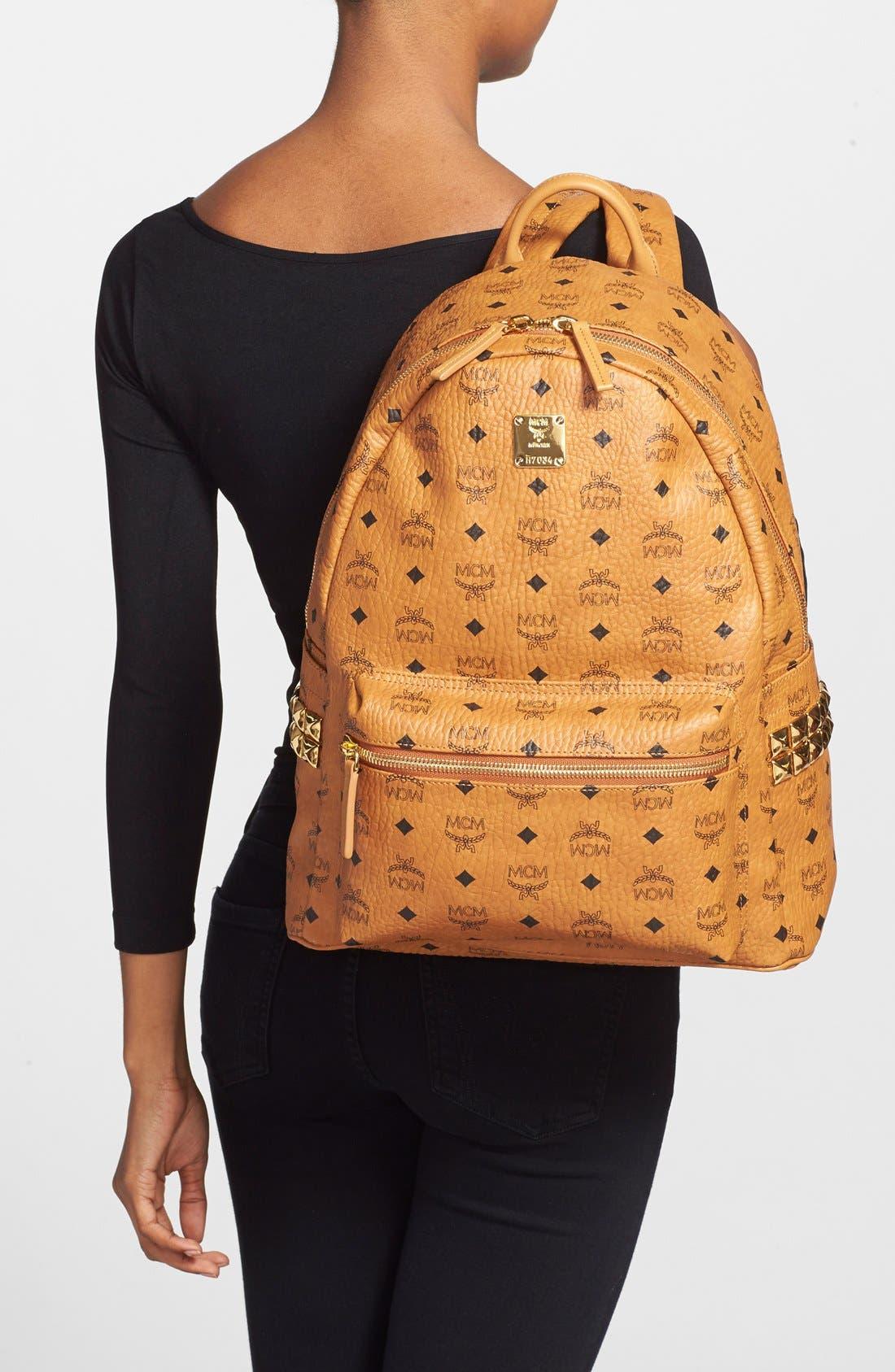 Alternate Image 2  - MCM 'Medium Stark' Side Stud Backpack