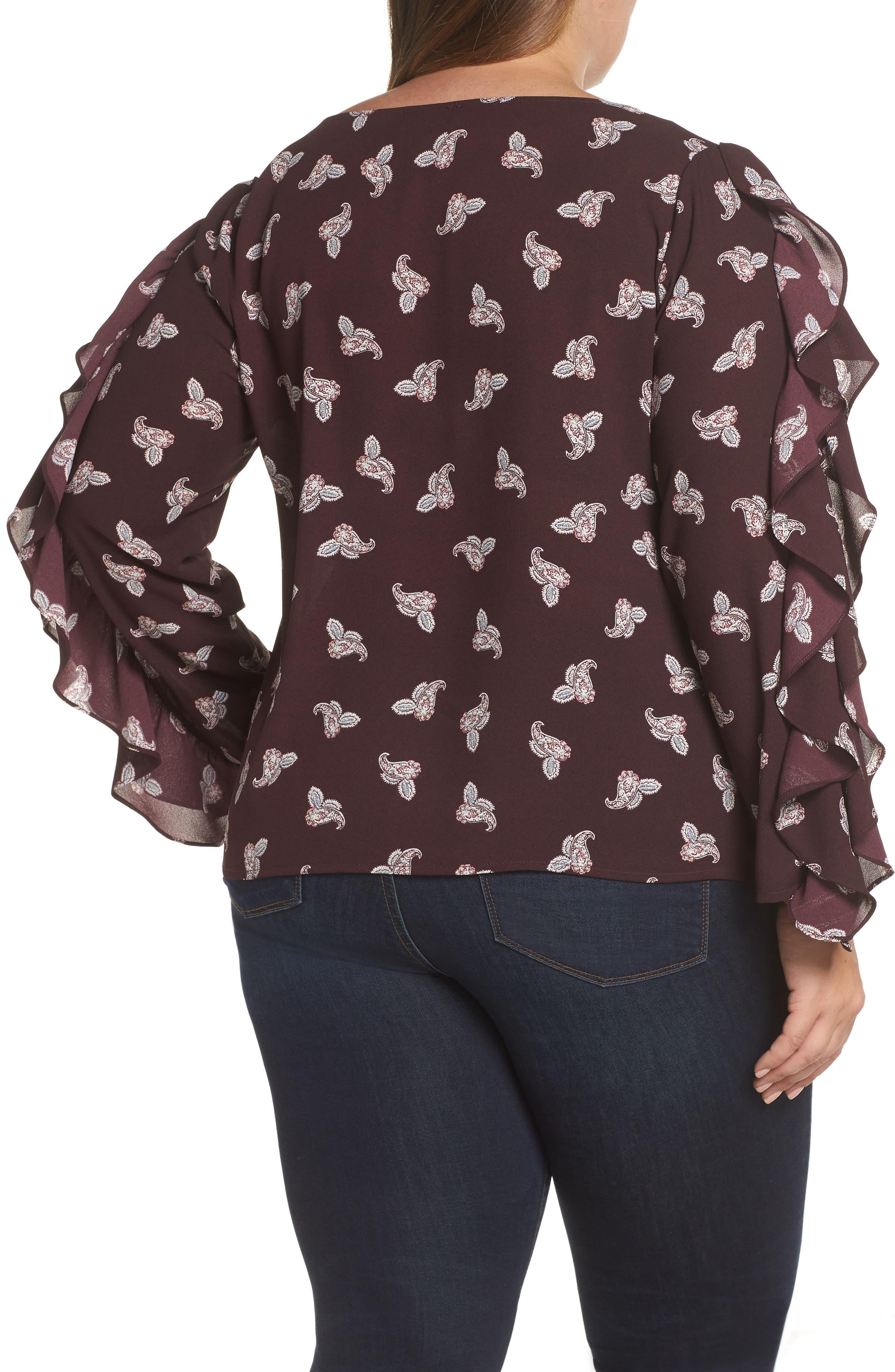 7ee0f7b55 ruffle sleeve shirt