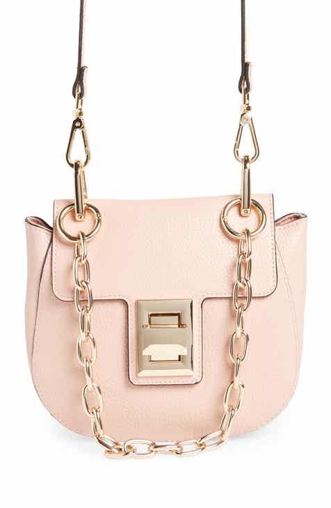 Steve Madden Dd Chain Faux Leather Crossbody Bag