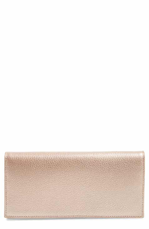 79b2b3e01f6713 Nordstrom Hunter Leather Continental Wallet