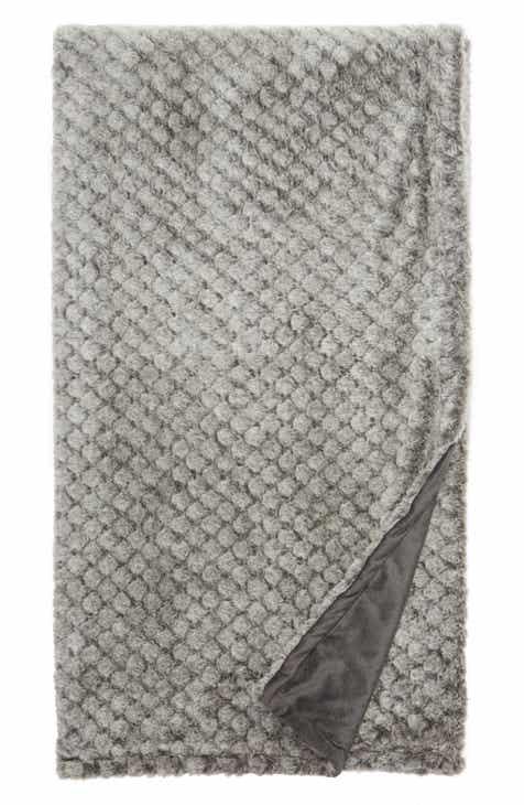 de26e989ea Nordstrom At Home Throw Blankets   Bed Throws   Wool   Fleece ...