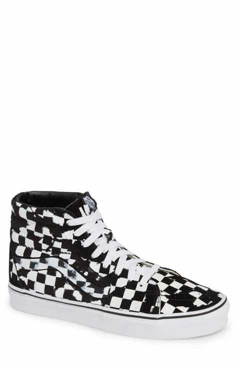 f9c995bd72 Vans Overprint Check Sk8 Hi Sneaker (Men)