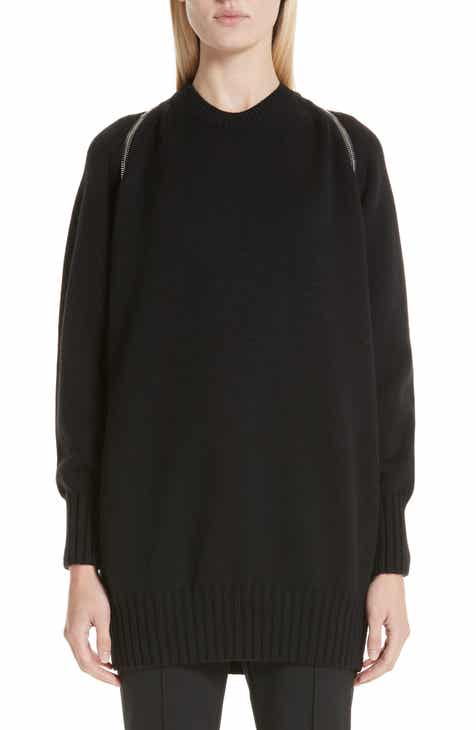 Alexander Wang Zip Shoulder Merino Wool Sweater by ALEXANDER WANG