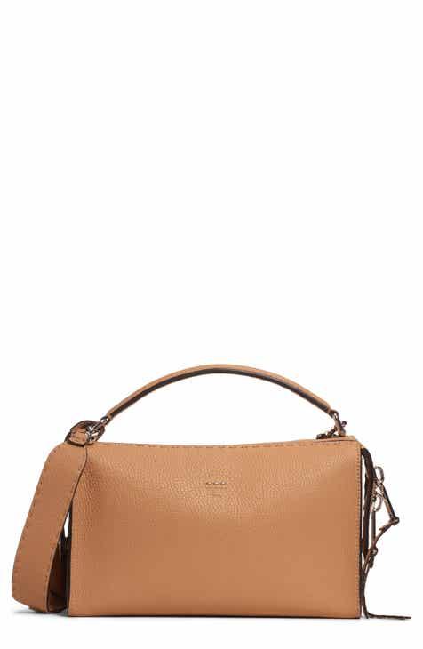 8459c738b2 Fendi Lei Selleria Leather Satchel