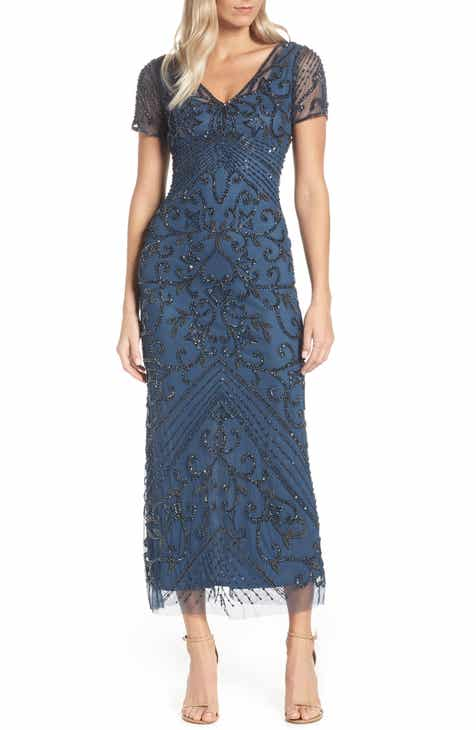 a68def162e8 Pisarro Nights Beaded Longline Gown (Regular