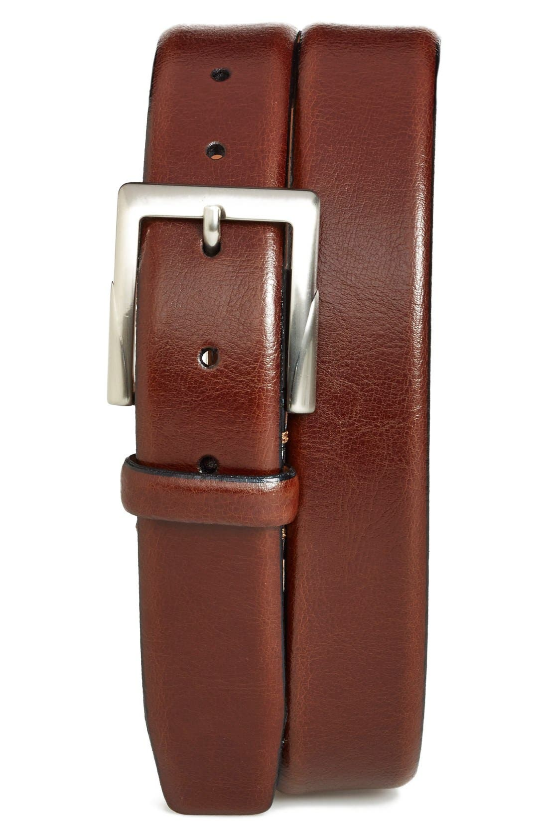 Main Image - Trafalgar 'Rafferty' Leather Belt