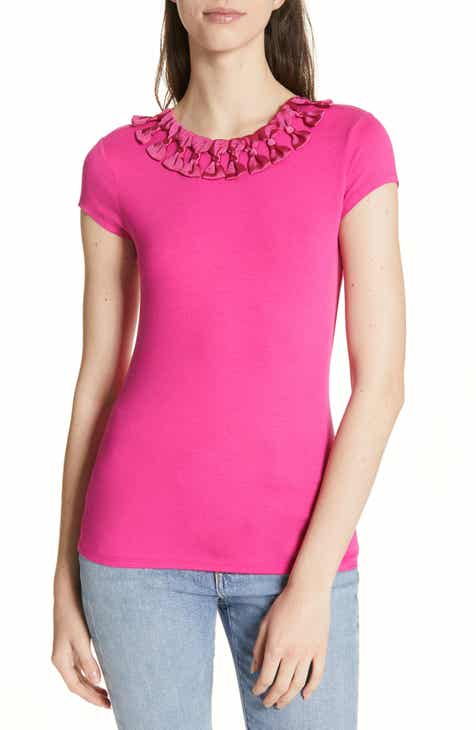 0633032a630aa4 Ted Baker London Charre Bow Trim Tee
