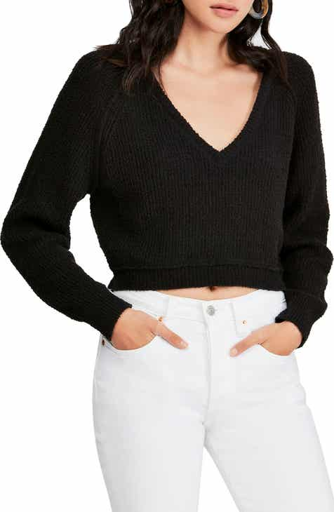 Free People V-Neck Sweater f9ebe8f6f