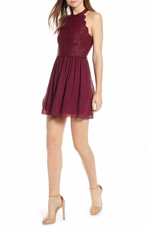 8273c00a545 Speechless Sleeveless Fit   Flare Dress