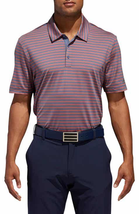 adidas Golf Ultimate 365 Stripet Jersey Polo