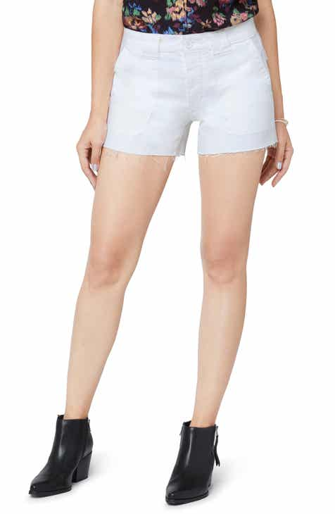 Sam Edelman Lotus Raw Hem Shorts (Laney) by SAM EDELMAN