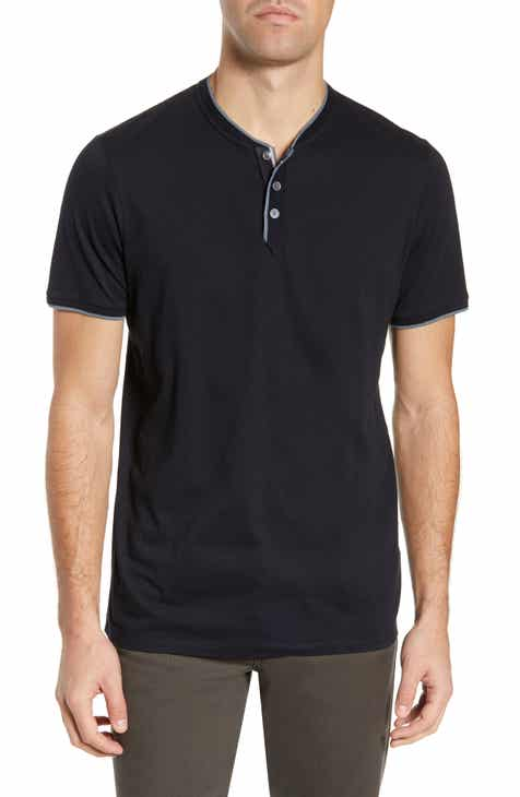 c734562245e0d4 Men s Ted Baker London Henley Long Sleeve   T-Shirts