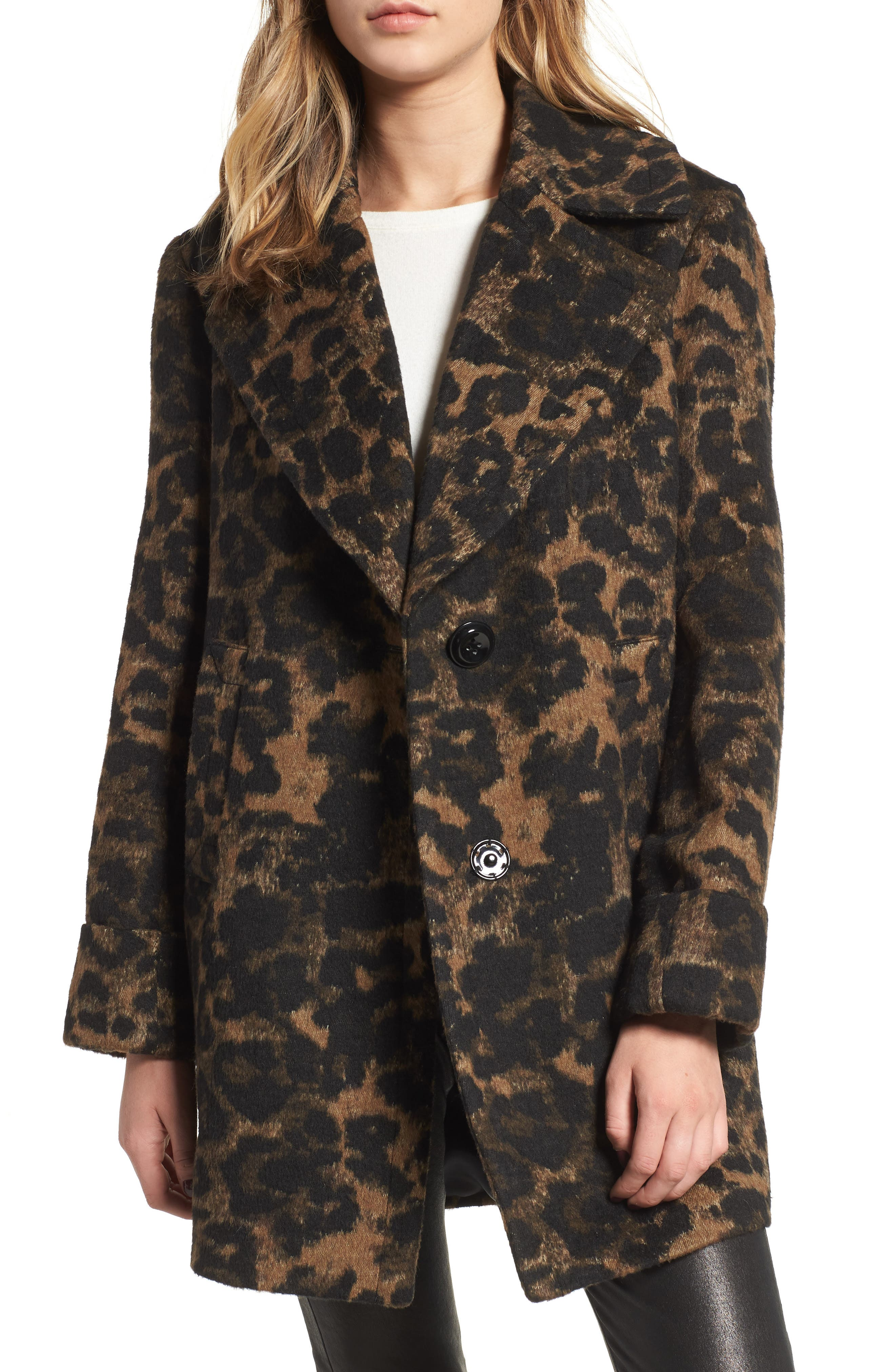 cbe72b65bf8b Women s Animal Print Coats   Jackets