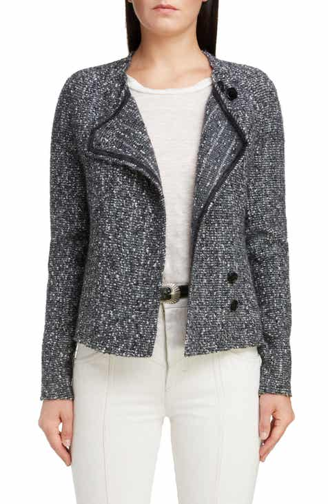 Isabel Marant Baby Alpaca & Virgin Wool Jacket by ISABEL MARANT