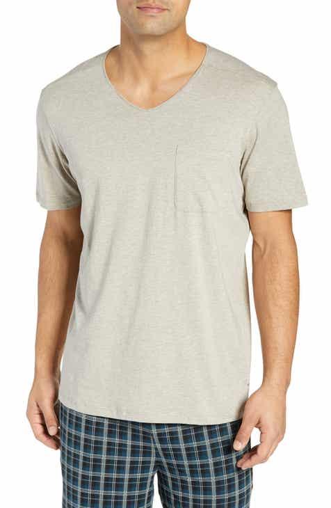 Daniel Buchler V-Neck Stretch Cotton   Modal T-Shirt d4d9c1def
