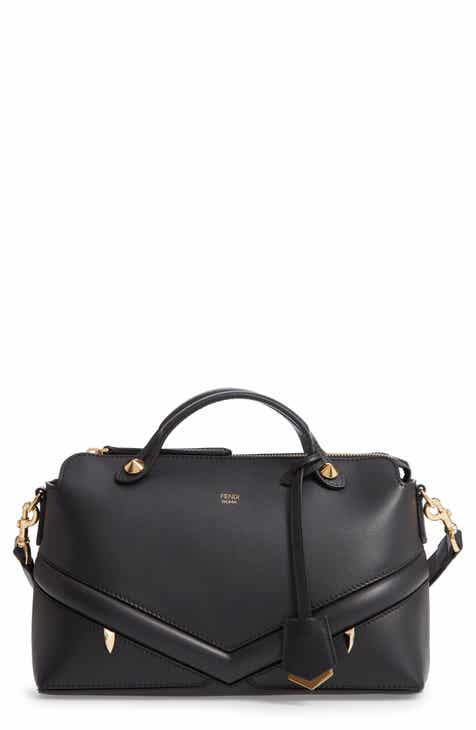 2cfdeb6217 Fendi By the Way - Wonders Convertible Leather Shoulder Bag