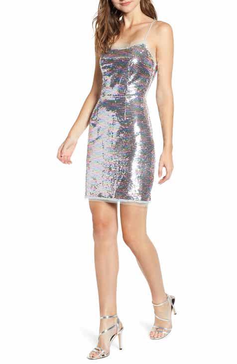 The East Order Cheyney Sequin Minidress