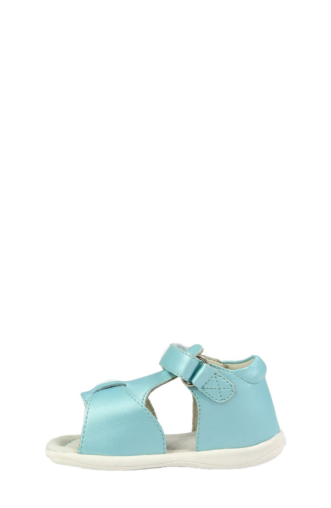 Alternate Image 4  - Umi 'Noel' Sandal (Baby, Walker & Toddler)