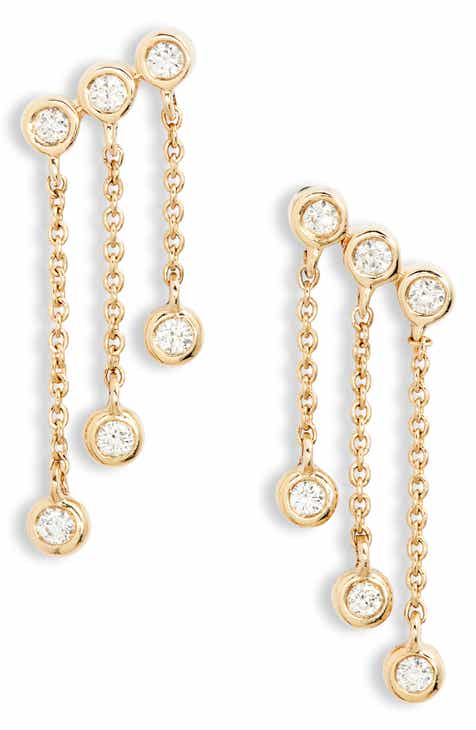 Dana Rebecca Designs Lulu Jack Diamond Drop Earrings