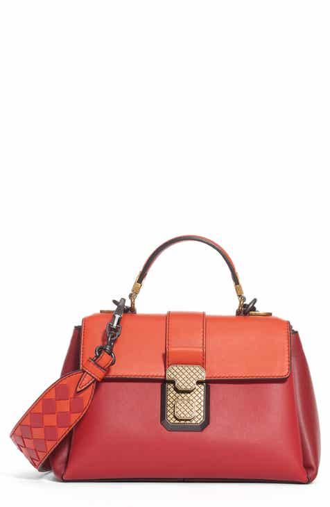b4ce59dcbf Bottega Veneta Small Piazza Bicolor Leather Handbag