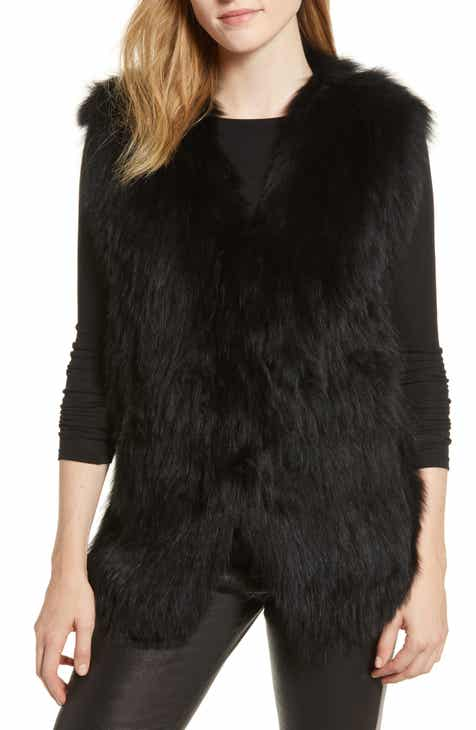 La Fiorentina Genuine Fox Fur Vest by LA FIORENTINA