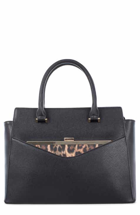 Céline Dion Grazioso Faux Leather Satchel