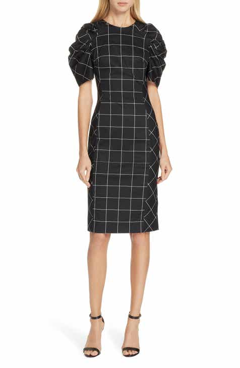 7da3e7a6ef7c Milly Check Sheath Dress