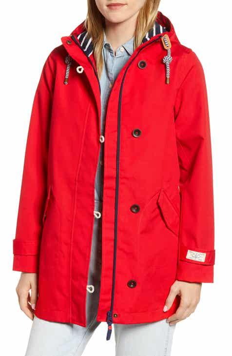 7c0c8db57b2dc2 Joules Coast Waterproof Hooded Jacket