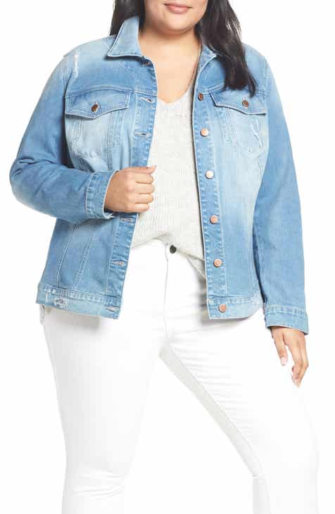 8ad7b07caa8a3 KUT from the Kloth Lily Denim Jacket (Adorn) (Plus Size)
