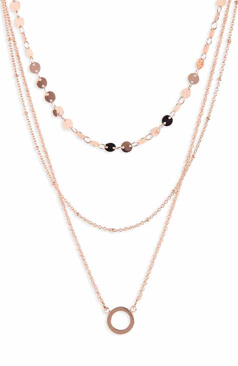 888166ec72d BaubleBar Adrielle Triple Strand Necklace