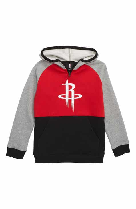 NBA Logo Houston Rockets Regulator Hoodie (Big Boys)